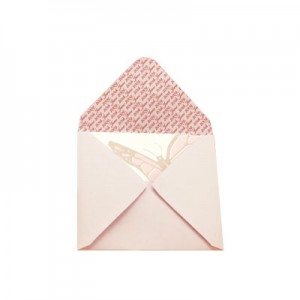 Mallow (Pink) Personalised Envelopes