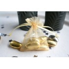 Gold Organza Favour Bag