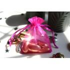 Hot Pink Organza Favour Bag