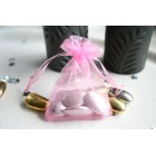 Baby Pink Organza Favour Bag
