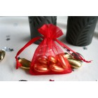 Red Organza Favour Bag