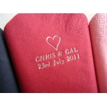 Luxury Personalised Serviettes - Napkins